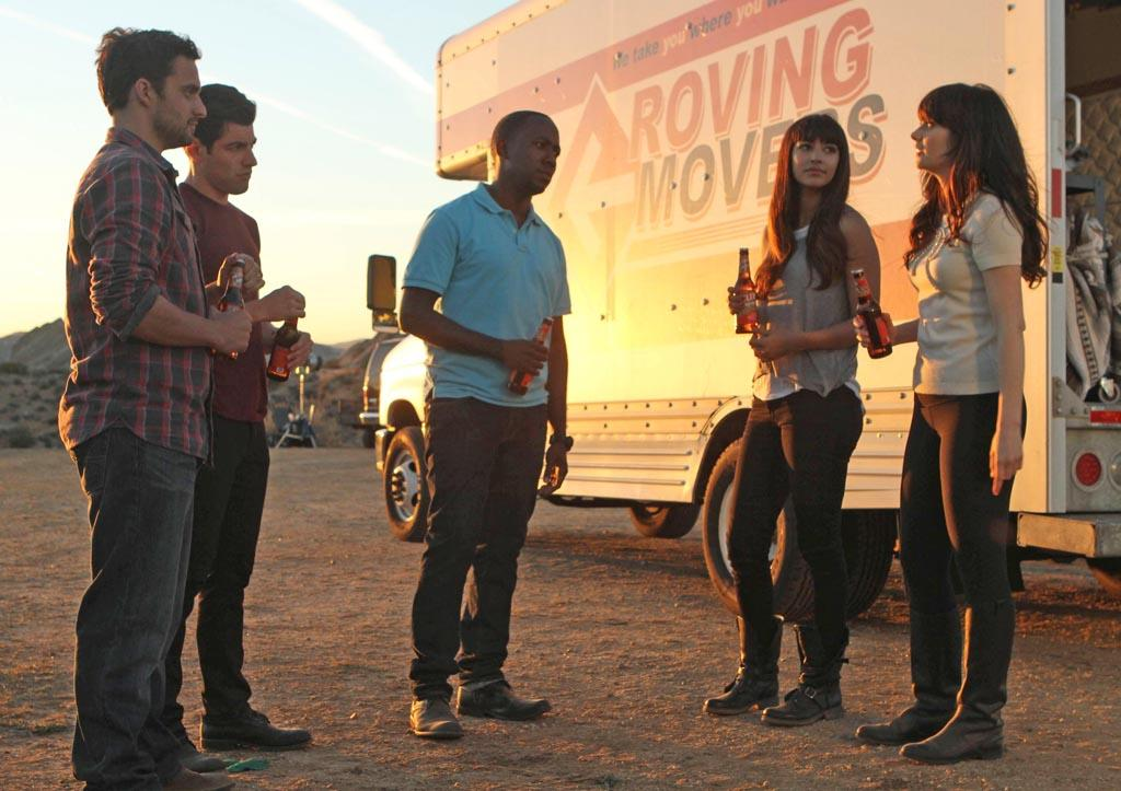 """<b>""""New Girl""""<br></b><br>Tuesday, 5/8 at 9 PM on Fox<br><br><a href=""""http://yhoo.it/IHaVpe"""">More on Upcoming Finales </a>"""