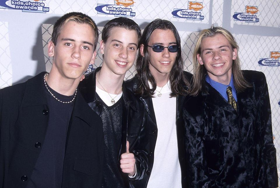 <p>Oh man, The Moffatts. This boy group was kind of like the Canadian Hanson, and even included a set of triplets, but they never quite hit the same stride that Hanson did. Mainly because they just weren't that good, if we're being really honest. Sorry! </p>