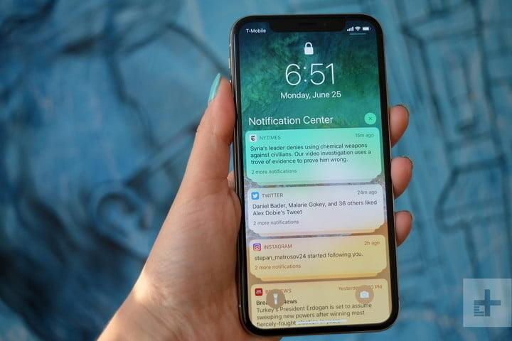 iphone xs y x comparativa apple ios 12 hands on review notification center 720x720