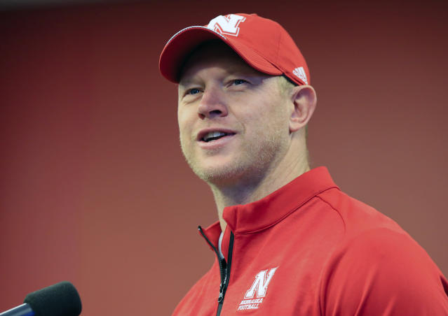 Scott Frost is entering his first season as Nebraska's head coach. (AP Photo/Nati Harnik, File)