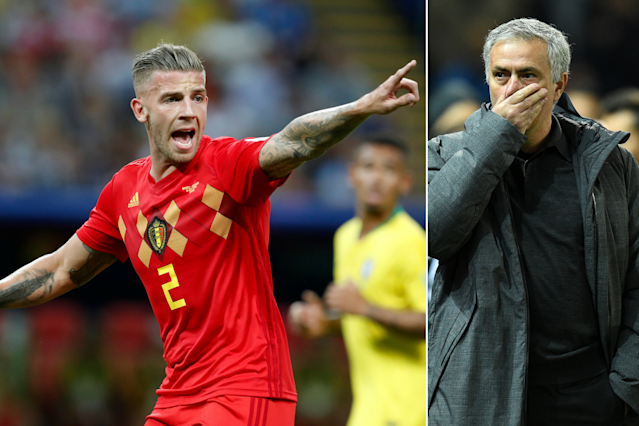 Manchester United have been offered encouragement as Alderweireld seeks a transfer from Tottenham this summer