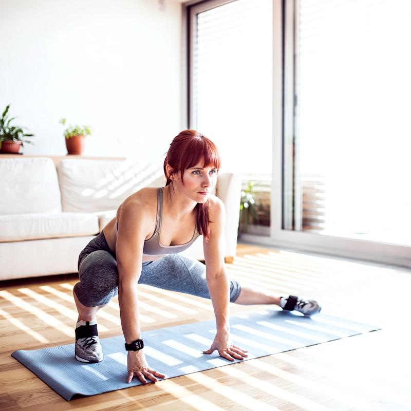 Making Your Home Workouts Harder Isn't Just About Adding More Weight - a Trainer Explains