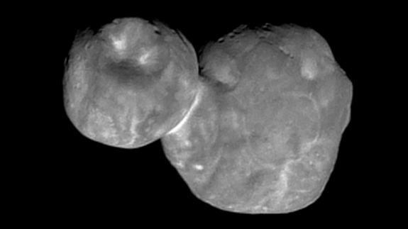 NASA visits 'space snowman' Ultima Thule