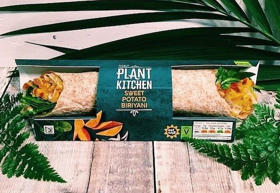 Marks and Spencer has come under fire for its vegan biryani wrap [Photo: Instagram]