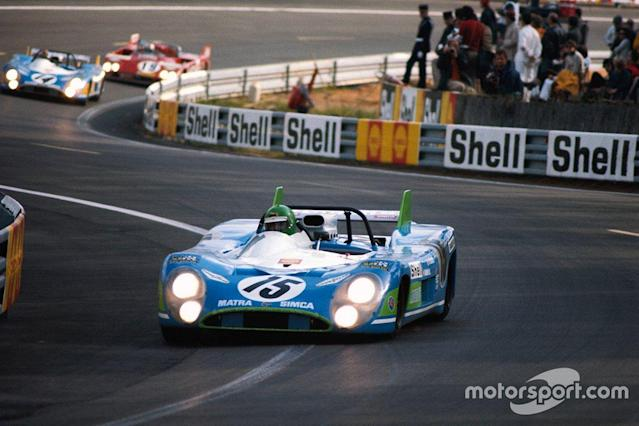 "Henri Pescarolo, Equipe Matra-Simca Shell, Matra-Simca MS670 <span class=""copyright"">Motorsport.com</span>"