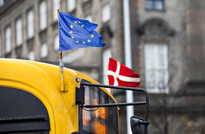 Against the backdrop of Europe's refugee crisis, much of the debate on whether Denmark should give up its exemption on EU justice policies came to be about the wider issue of Copenhagen's ties with Brussels (AFP Photo/Jens Nørgaard Larsen)