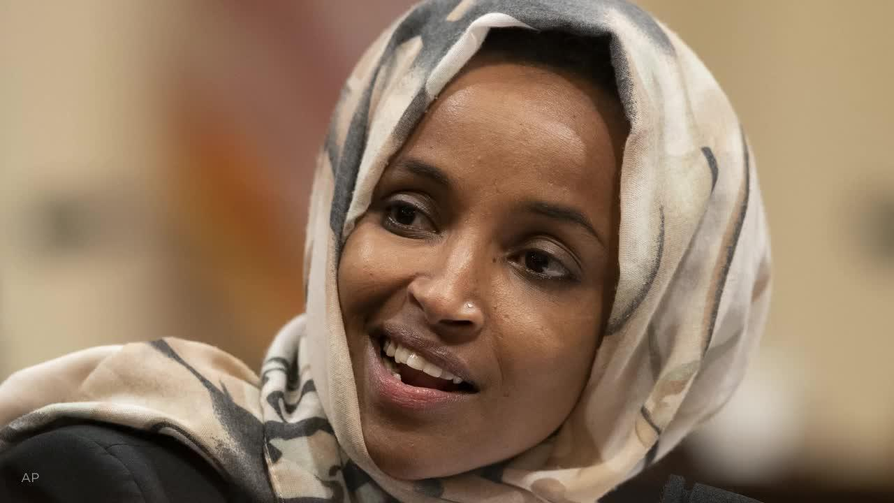 <b>Republican running against Ilhan Omar banned from Twitter</b>