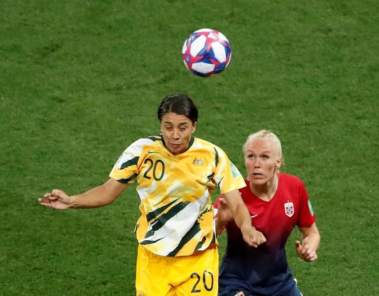 FILE PHOTO: Women's World Cup - Round of 16 - Norway v Australia