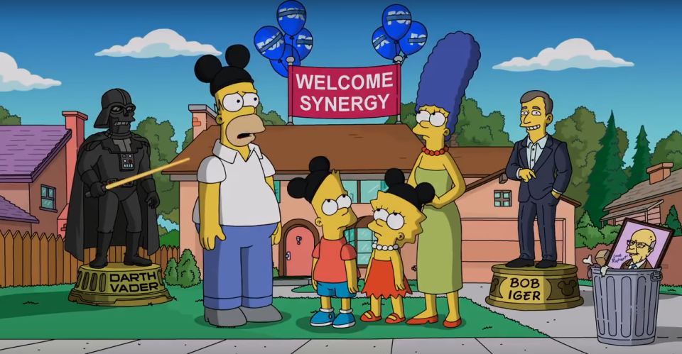 The Simpsons (Credit: Fox/Disney)