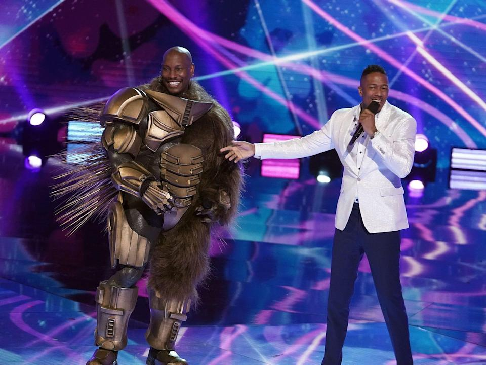tyrese and nick cannon masked singer
