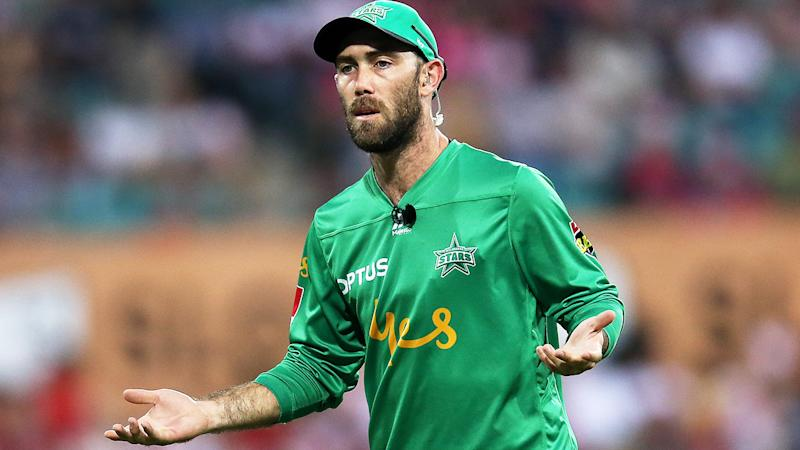 Glenn Maxwell, pictured here in action against the Sydney Sixers in the Big Bash.