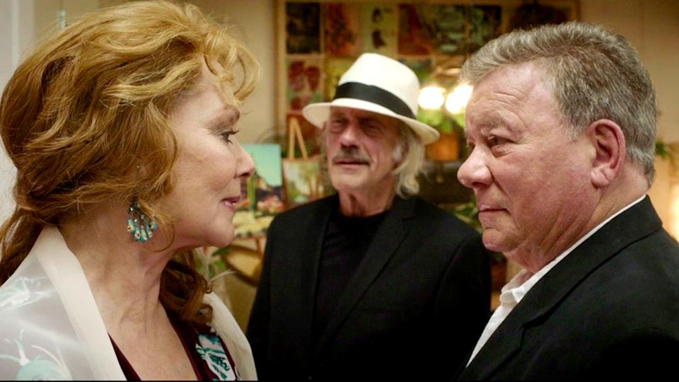 Jean Smart, Christopher Lloyd and William Shatner star in the new romantic comedy, 'Senior Moment' (Photo: Screen Media/Goff Productions)