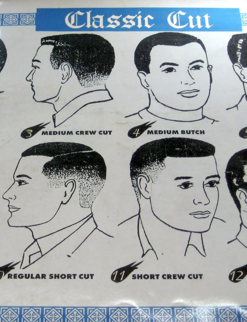 How To Ask For A Hitler Youth Haircut
