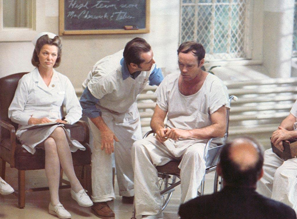 "<a href=""http://movies.yahoo.com/movie/contributor/1800040517"">Louise Fletcher</a>, ""<a href=""http://movies.yahoo.com/movie/1800103151/info"">One Flew Over the Cuckoo's Nest</a>""<br><br>With electroshock therapy and neuroleptic drugs at her disposal, the unyielding authoritarian known as Nurse Ratched rules her mental institution with ease. When <a href=""http://movies.yahoo.com/movie/contributor/1800020346"">Jack Nicholson's</a> Randle McMurphy shows up, he disrupts her master plan, but the troublemaker eventually pays the ultimate price when Ratched regains control and orders a lobotomy for her wild child."