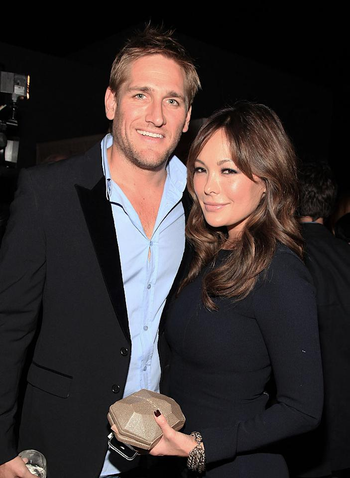 """Aussie celebrity chef Curtis Stone made the scene with his cute main squeeze, Lindsay Price. Angela Weiss/<a href=""""http://www.wireimage.com"""" target=""""new"""">WireImage.com</a> - September 29, 2010"""