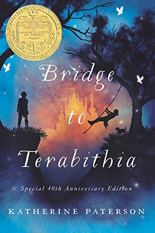 """<p><strong><em>Bridge to Terabithia</em> by Katherine Paterson </strong></p><p>$7.50 <a class=""""link rapid-noclick-resp"""" href=""""https://www.amazon.com/Bridge-Terabithia-Katherine-Paterson/dp/0064401847/?tag=syn-yahoo-20&ascsubtag=%5Bartid%7C10063.g.34149860%5Bsrc%7Cyahoo-us"""" rel=""""nofollow noopener"""" target=""""_blank"""" data-ylk=""""slk:BUY NOW"""">BUY NOW</a> </p><p><em>Bridge to Terabithia</em> is an emotional novel that follows Jess Aarons and his friend Leslie Burke into their mysterious world in the woods — Terabithia. One day, Leslie ventures off into Terabithia without Jess. What follows is heart-wrenching, and the rest of the novel walks the reader through the picking up of all the pieces. <br></p>"""
