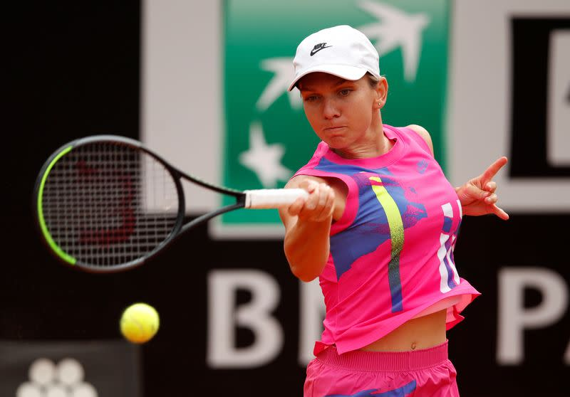 Clay queen Halep firm favourite for French Open after winning streak