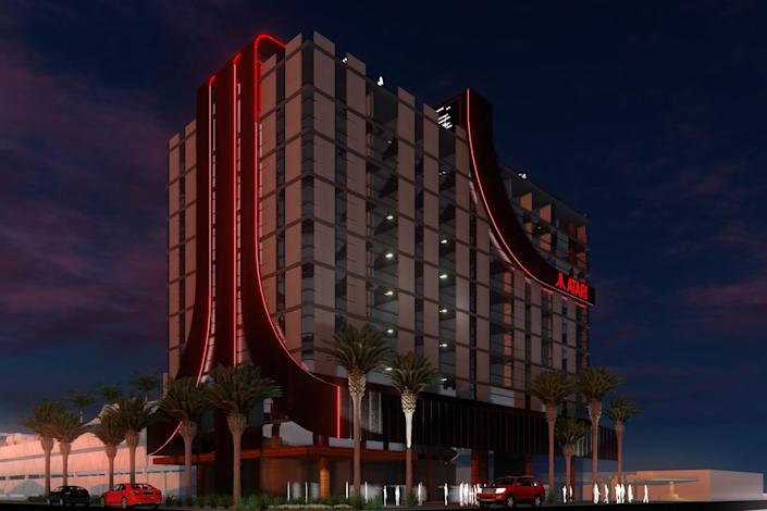 Atari plans to open hotels all over the United States.