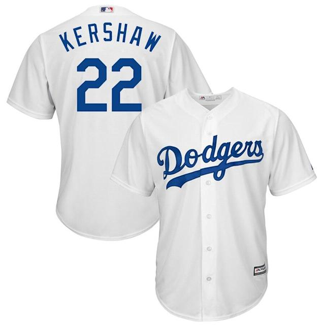 Kershaw Dodgers Cool Base Player Jersey