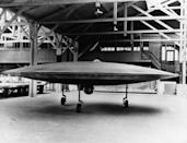 """<p>While the public has always been fascinated with the government's investigation of UFOs, the fact that the military once funded the <a href=""""https://www.popularmechanics.com/military/a8699/declassified-americas-secret-flying-saucer-15075926/"""" rel=""""nofollow noopener"""" target=""""_blank"""" data-ylk=""""slk:design of its own flying saucers"""" class=""""link rapid-noclick-resp"""">design of its own flying saucers</a> hasn't been made public until recently. The secret program was launched by the military in the 1950s and was titled Project 1794. The mission? A supersonic aircraft that could uniquely combat Soviet bombers. </p>"""