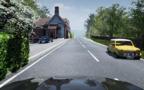 FiveAI are recreating parts of the British countryside in simulations so to train AV cars for rural roads. - Credit: FiveAI/FiveAI