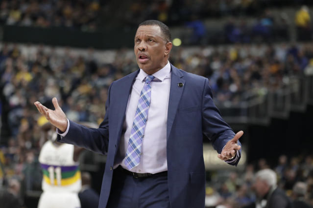 Alvin Gentry will be running a much younger team next season. (AP Photo/Michael Conroy)