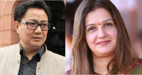 Happy Birthday to my Fitness motivator: Priyanka Chaturvedi wishes Kiren Rijiju