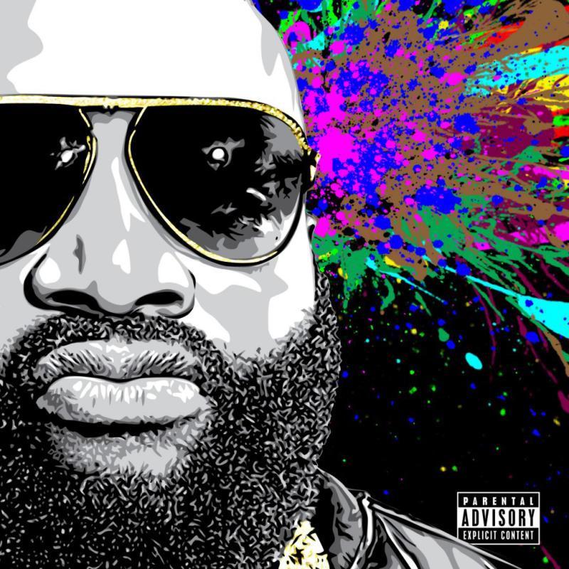 """This photo provided by Maybach Music Group/Def Jam shows the cover of Rick Ross' album, """"Mastermind."""" (AP Photo/Maybach Music Group/Def Jam)"""