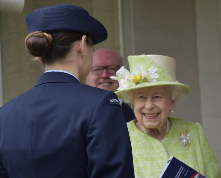 The Queen attended a service to mark the centenary of the Royal Australian Air Force. (Royal Family)
