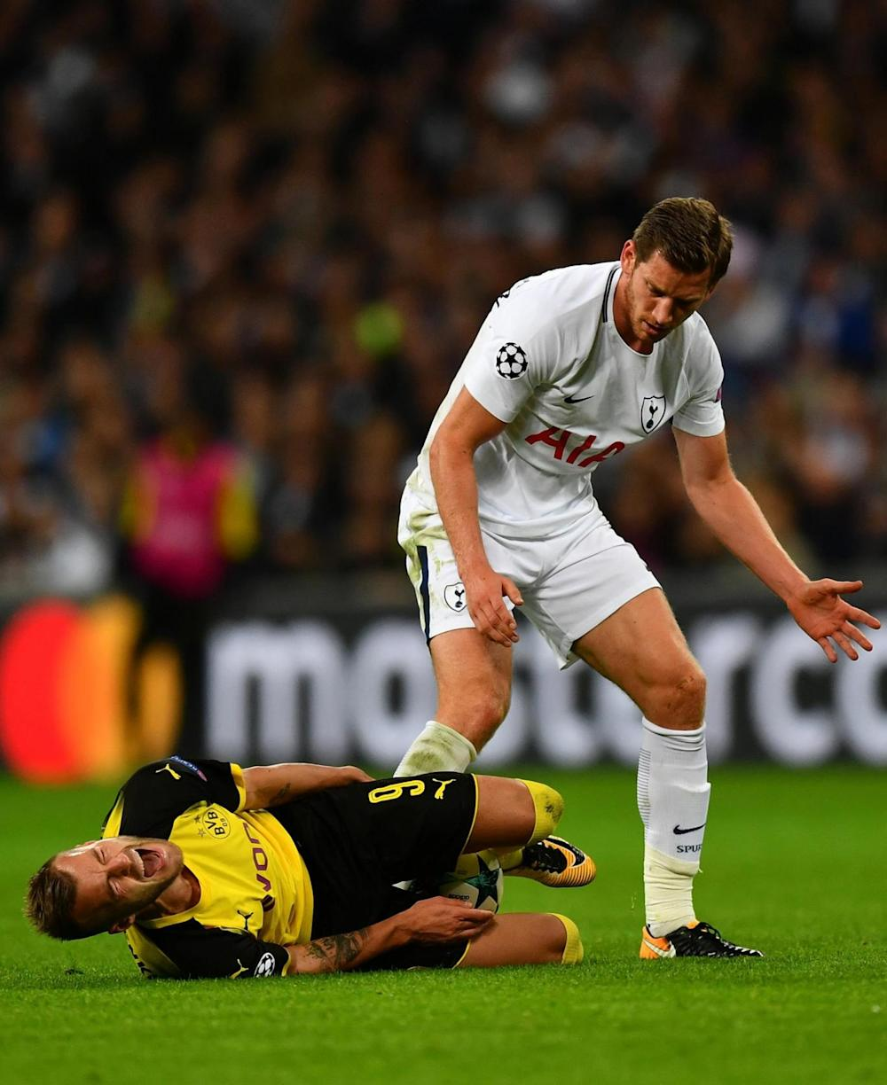 Vertonghen's red card was the only blow for Spurs (Getty)
