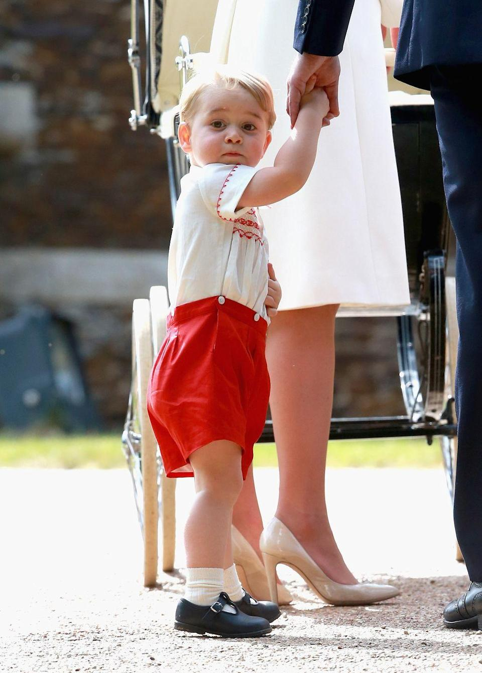 """<p>Although royals are known to have <em>plenty </em>of private nicknames for one another (Prince Philip refers to the Queen <a href=""""https://www.msn.com/en-us/lifestyle/royals/prince-philip-s-nickname-for-wife-queen-elizabeth-is-actually-baffling/ar-AACFDAr"""" rel=""""nofollow noopener"""" target=""""_blank"""" data-ylk=""""slk:as Cabbage"""" class=""""link rapid-noclick-resp"""">as Cabbage</a>), it's considered improper for a royal to be addressed by anything other than their full name formally, which is <a href=""""https://www.goodhousekeeping.com/life/g4817/odd-royal-family-rules/?slide=30"""" rel=""""nofollow noopener"""" target=""""_blank"""" data-ylk=""""slk:why Kate Middleton now goes by Catherine"""" class=""""link rapid-noclick-resp"""">why Kate Middleton now goes by Catherine</a>. </p>"""