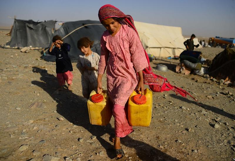 """The United Nations says three million people are in the """"emergency"""" phase four of a widely-used food insecurity index (AFP Photo/HOSHANG HASHIMI)"""