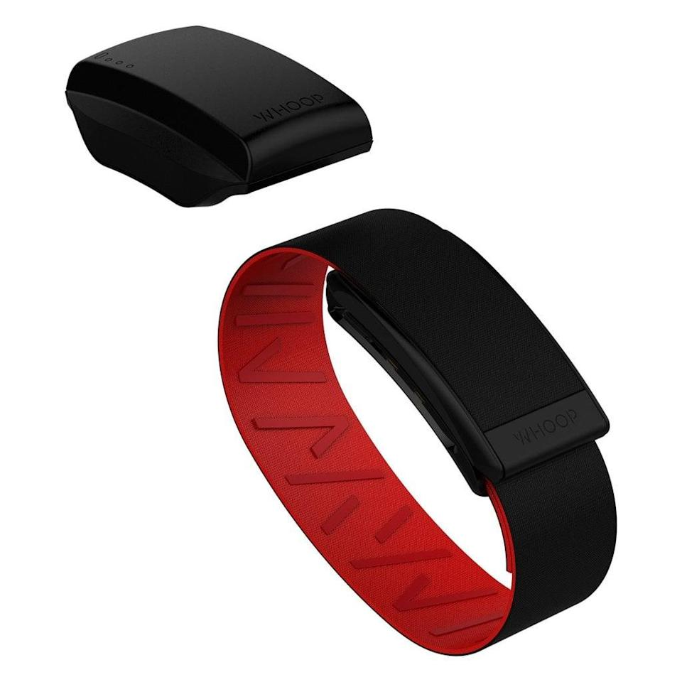 <p>The <span>Whoop Performance Strap 3.0</span> ($288 for a one-year membership) is a game changer for those who want to optimize their training and recovery. It analyzes recovery, strain, and sleep to determine how hard you should push yourself each day based on the data collected. The strap lets you know how much sleep you need depending on your daily performance goals, and it provides in-depth information on the type of training you partake in and the benefits of that style of training.</p>