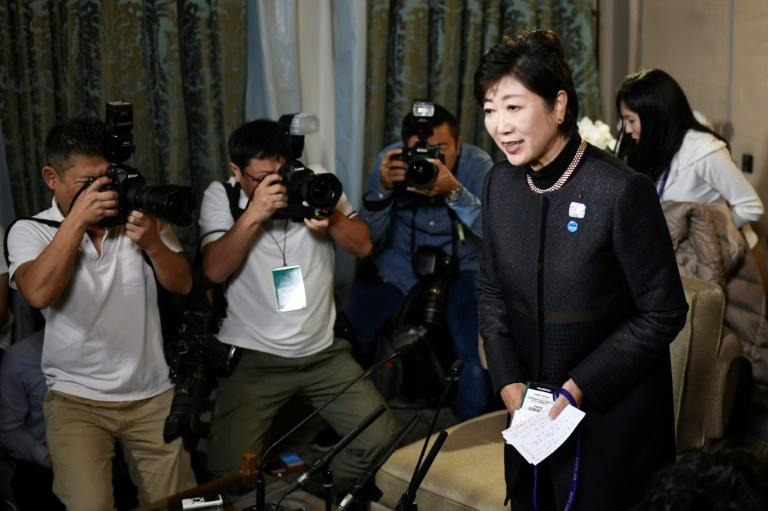 Yuriko Koike said she would take responsibility for her party's election defeat