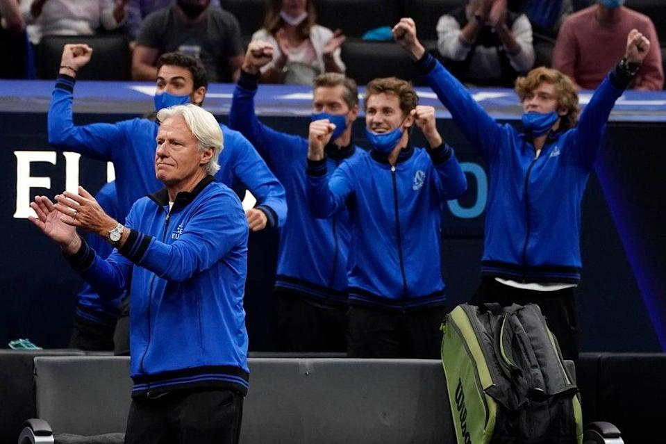 Team Europe continued to press home their advantage on day two in Boston (Elise Amendola/AP) (AP)