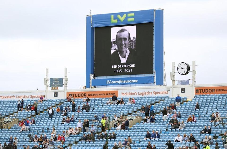 Former England captain Ted Dexter has died  (PA Wire)