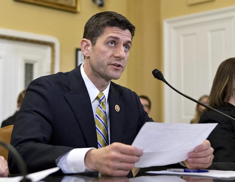 FILE - In this March 18, 2013 file photo, House Budget Committee Chairman Rep. Paul Ryan, R-Wis. is seen on Capitol Hill in Washington Wisconsin Gov. Scott Walker and his friend, Ryan, are already considered potential 2016 presidential candidates. The Republicans are part of an unusual group of potential candidates hailing from the same states, including Democrats Hillary Rodham Clinton and New York Gov. Andrew Cuomo, former Florida Gov. Jeb Bush and Sen. Marco Rubio, R-Fla., and perhaps Texas Gov. Rick Perry and freshman Sen. Ted Cruz, R-Texas. (AP Photo/J. Scott Applewhite, File)