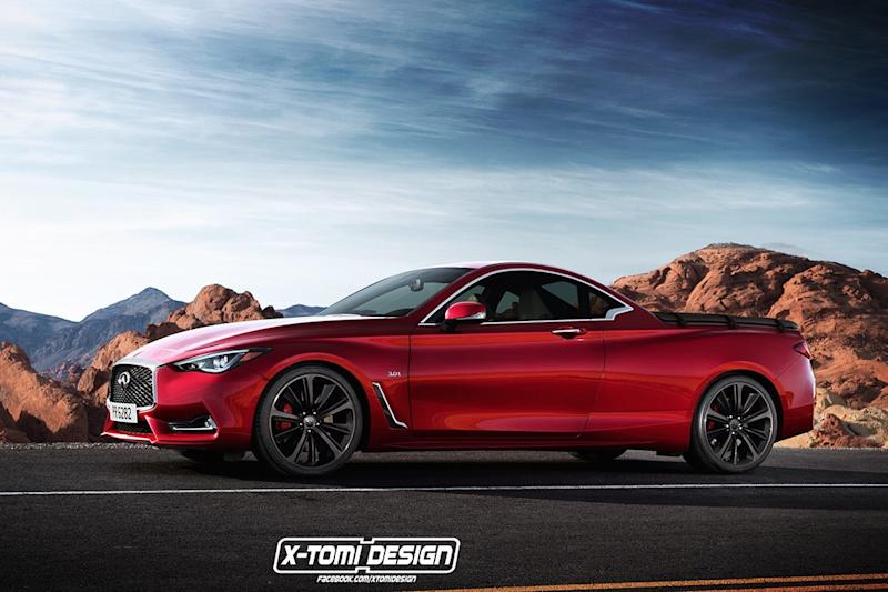 What do you think of this hypothetical Infiniti Q60 El Camino?