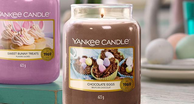 Yankee Candle is selling a chocolate scented candle. (Yankee Candle)