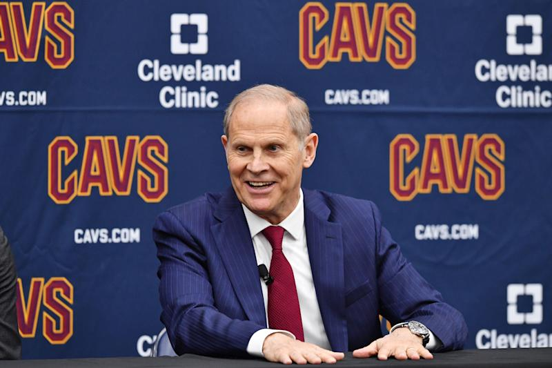 Beilein introduced as coach of the Cleveland Cavaliers