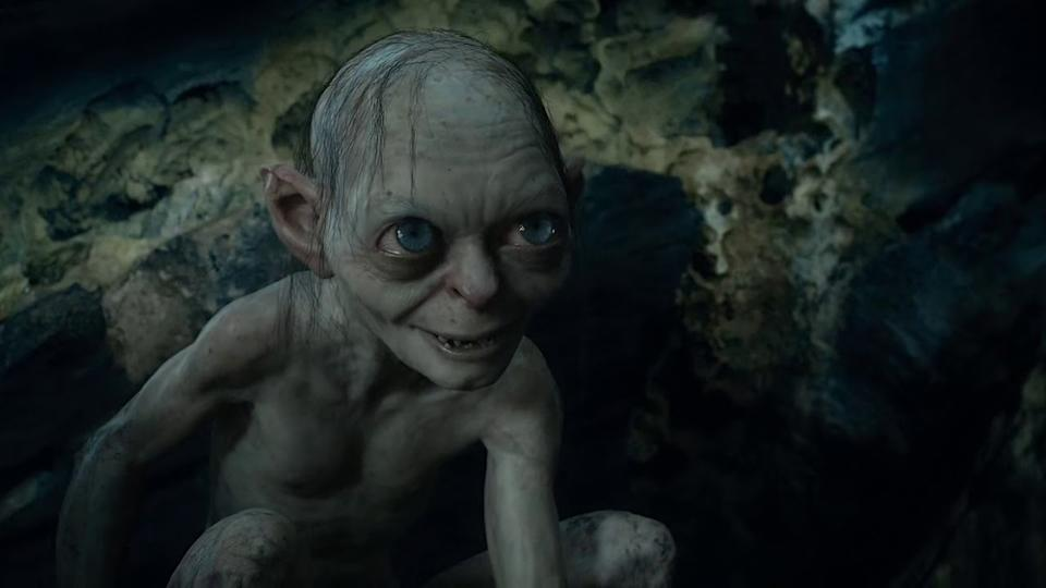 Gollum in 'The Hobbit: An Unexpected Journey'. (Credit: New Line Cinema)