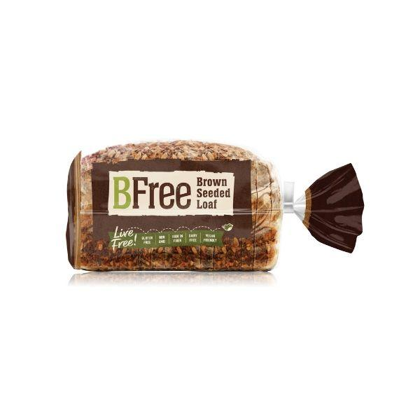 "<p><strong></strong></p><p>bfreefoods.com</p><p><a href=""https://www.bfreefoods.com/en/product/brown-seeded-sandwich-loafs/?location=848+Cherry+St%2C+Norristown%2C+PA+19401%2C+USA&radius=5"" target=""_blank"">SHOP NOW</a></p><p>This soy-free, nut-free, egg-free, dairy-free, <em>and</em> gluten-free bread gets plenty of satisfying texture and crunch from <em></em>sunflower seeds and golden linseeds.</p><p>Plus, ""it provides a whopping six grams of fiber and four grams of protein per slice—more than many gluten-filled breads,"" says Taub-Dix.</p><p><em>Per serving: 100 calories, 0.5 g fat (0 g saturated), 17 g carbs, 250 mg sodium, 0 g sugar, 6 g fiber, 4 g protein</em></p>"
