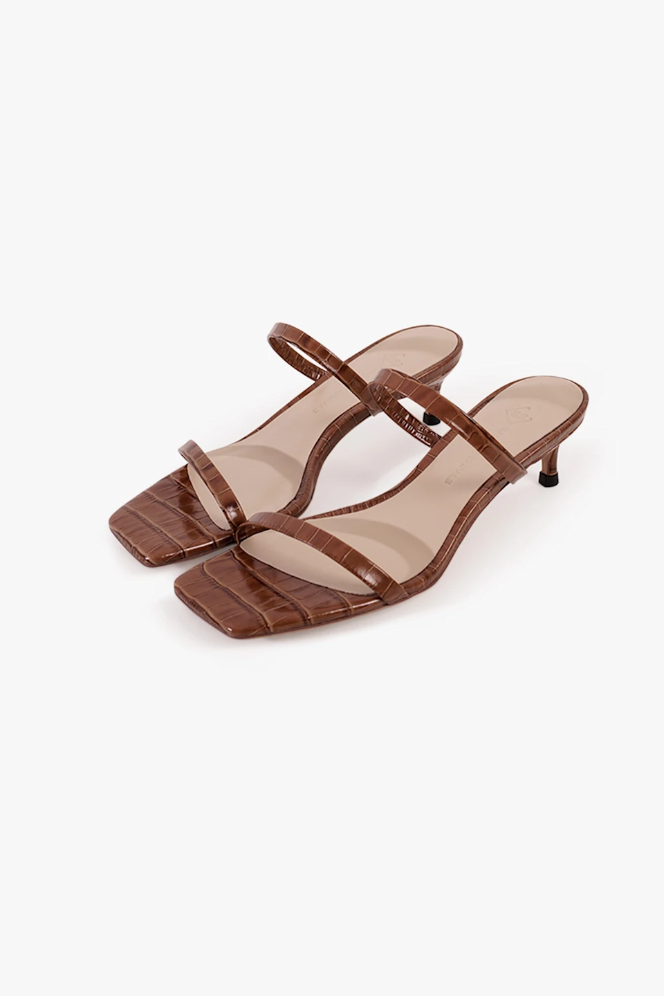 """<br> <br> <strong>Genuine People</strong> Textured Leather Sandals, $, available at <a href=""""https://go.skimresources.com/?id=30283X879131&url=https%3A%2F%2Fgenuine-people.com%2Fcollections%2Fshoes%2Fproducts%2Ftextured-leather-sandals-in-brown%3Fvariant%3D28097494286411"""" rel=""""nofollow noopener"""" target=""""_blank"""" data-ylk=""""slk:Genuine People"""" class=""""link rapid-noclick-resp"""">Genuine People</a>"""