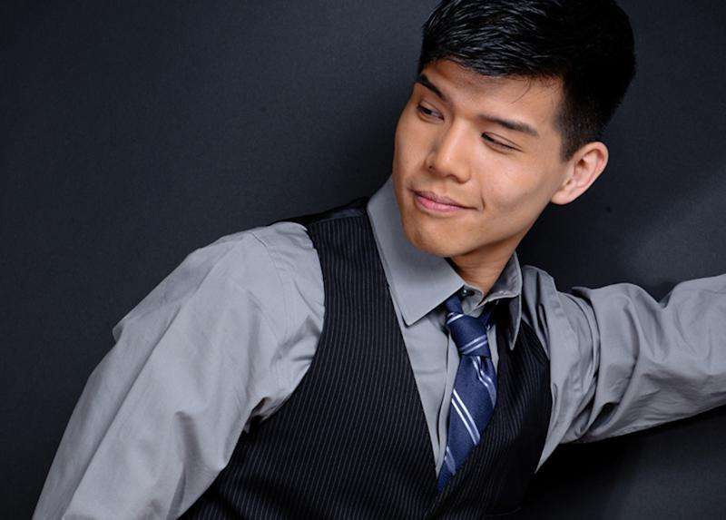 """This undated image released by Eve Reinhardt Photography shows actor-singer Telly Leung.  Leung released his debut solo CD, the 13-track """"I'll Cover You"""" this month by Yellow Sound Label. (AP Photo/Eve Reinhardt Photography)"""
