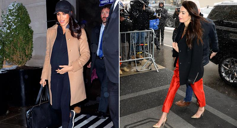 Meghan Markle Returns To London After Nyc Baby Shower