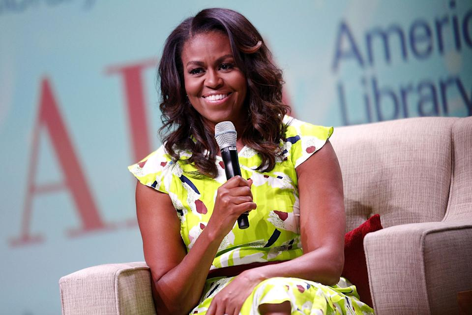 In her new book, Michelle Obama opens up about her experience with in vitro fertilization. (Photo: Jonathan Bachman/Getty Images)