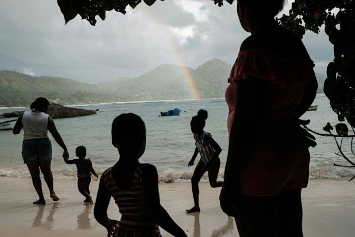 Seychelles is confronting a tug-of-war over how to keep the economy growing, while protecting its fragile ecosystem (AFP Photo/Yasuyoshi CHIBA)