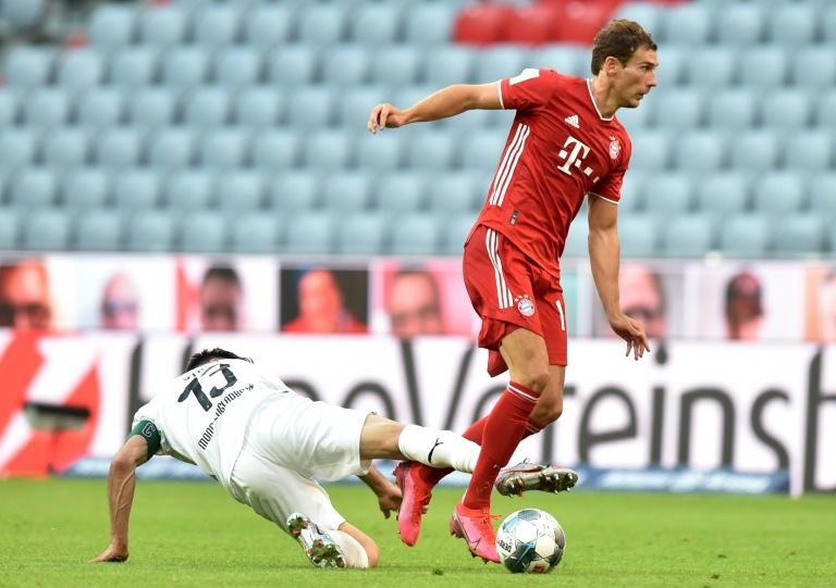 Leon Goretzka sealed Saturday's 2-1 win over Borussia Moenchengladbach which leaves Bayern Munich within one more victory of an eighth straight Bundesliga title