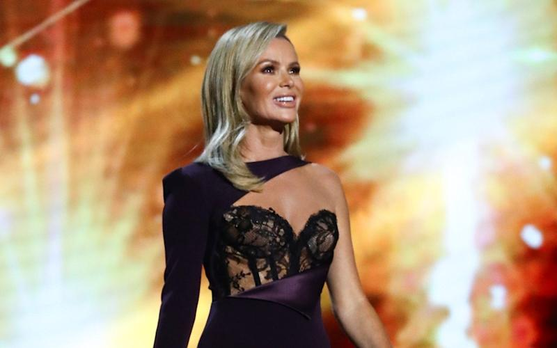 Britain personified: Amanda Holden - Dymond/Thames/Syco/Shutterstock