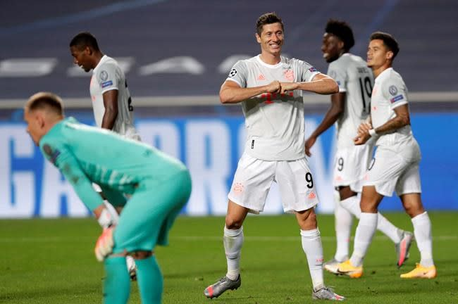Lyon's youth takes on experience of Bayern in CL semifinal